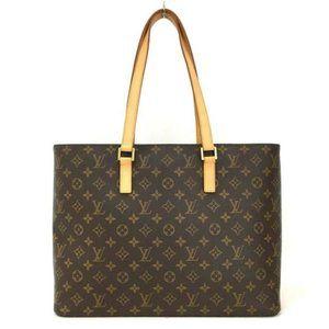 💯 Auth Louis Vuitton Luco Laptop/Tote/Office Bag